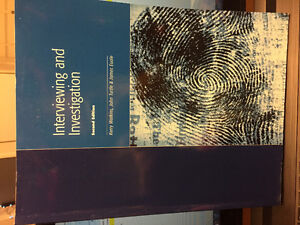 Protection security and Investigations text book great condition