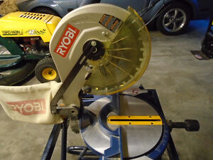 Ryobi 7.23 inch Miter Saw With Laser on Collapsible Stand