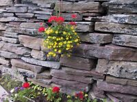 Rock for RETAINING WALLS
