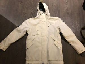 Under Armour Hooper Ski Jacket (color - white; size - small)