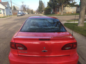 2001 Red Chevorlet Cavalier Coup  (+Command Start)