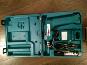 Makita cordless drills and with chargers and batteries