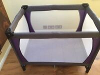 Travel cot from John Lewis - like new