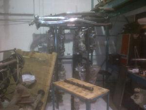 440 forged steel cranks