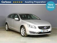 2015 VOLVO V60 D2 [115] SE Lux Nav 5dr Powershift Estate