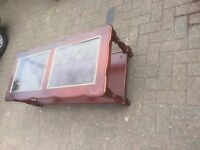 Mahogany Coffee table ideal to upcycle