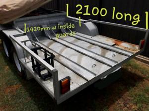 Galvanised marlin camper trailer setup