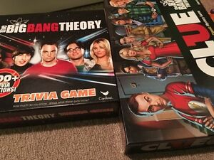 Big Bang theory games.  Peterborough Peterborough Area image 1