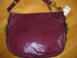 Authentic COACH bag, model: ZOE, great patent materialNEW