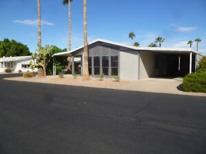 Rent 2/bed 2/bath house in Resort Like Park in Mesa