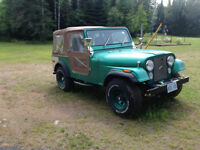 1978 Jeep CJ CJ7 Restored Convertible