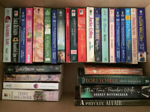Lot of 28 Asst. Romance Novels (paperbacks, used)