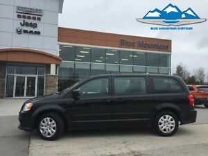2016 Dodge Grand Caravan Canada Value Package   - Low Mileage