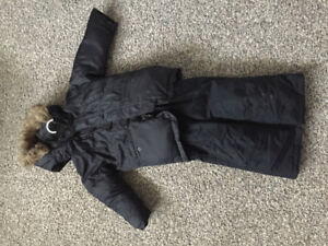 kids snowsuit, size 4