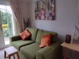 DFS 2 seater and chair - apple green - updated ad!