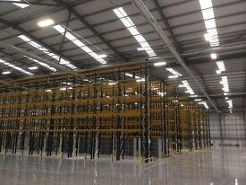 Trainee Racking & Shelving installer Basildon.