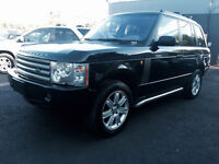 2003 LAND ROVER RANGE ROVER, BLACK ON GRAY LEATHER/ROOF/LOADED!