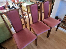 Free dining chairs good condition