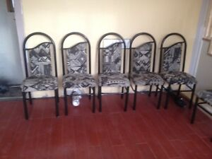 6 Dining Chairs for Sale All for $85