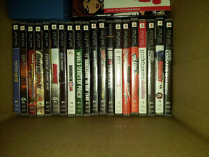 Lots of assorted PSP Games for sale