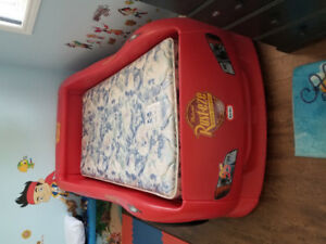Cars Twin Bed- Great shape