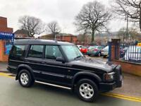 2004 Land Rover Discovery 2.5Td5 (7 SEATS) BLACK Pursuit!