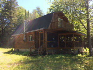 Cottage for rent on Miramichi River
