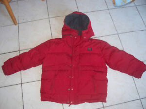 Roots down field winter jacket- kids Large in  great condition