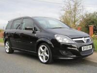 2009 Vauxhall Zafira 1.9 CDTi 150 BHP SRi 5DR FULL VAUXHALL EXTERIOR PACK ** ...