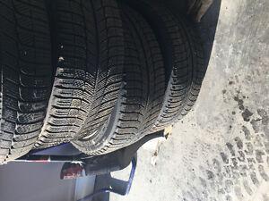 "4 Michelin Radial X tires + 4 17"" Rims"