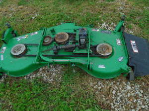 """72"""" mower deck from john deere 4310 with all mounting hardware"""