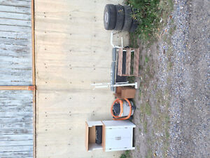 Free lumber and wheels and furniture.