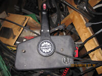 control box with cable bpr jonhson evinrude