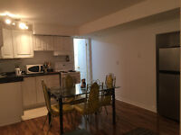 furnished basement apartment for rent in Richmond Hill
