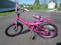 "Avigo - 18"" Purple Rain Bike"