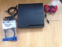 Sony PlayStation 3 Slim Black 160 GB excellent condition