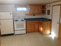 All included 1 bedroom basement apart $675