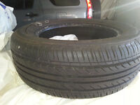 4 almost new summer tires 185 60R14