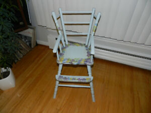 Antique High Chair collectible toy