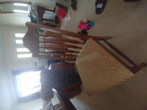 FREE dining room table and 4 chairs