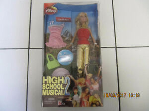 Classic Disney High School Musical 2 Sharpay Doll NIB Circa2007