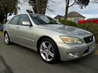 LEXUS IS 200 2.0 AUTO SE 2002 COMPLETE WITH M.O.T HPI CLEAR INC WARRANTY