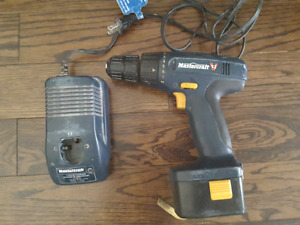 Drill with case and charger for $ 35.00