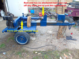 WANTED ANY TYPE OF HYDRAULIC CYLINDER FOR CUSTOM LOG SPLITER