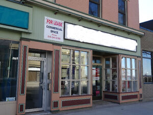 FOR LEASE COMMERCIAL / RETAIL SPACE
