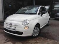 2010 (10) Fiat 500 1.2 POP *Electric Sunroof* (Finance Available)