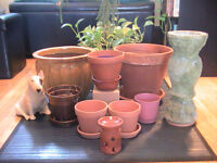 Spring Planter Pot and Gardener's Sale