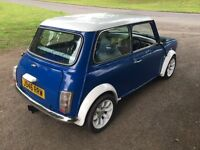 Classic Mini Mayfair 998cc with 1275 turbo fitted. Clubman front Austin rover