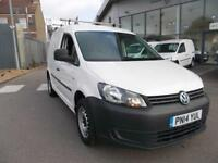 Volkswagen Caddy 1.6 Tdi 75Ps Startline Van DIESEL MANUAL WHITE (2014)