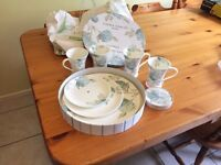 Laura Ashley Cake 3 Tier Cake Stand, Mugs and Coasters